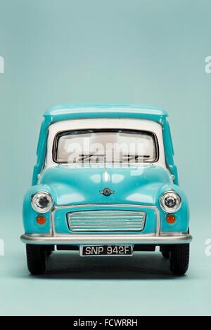 Vintage Morris Minor Toy Van - Stock Photo