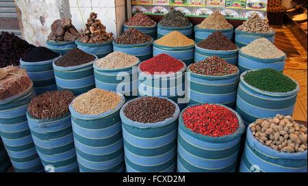 bazaar in peaceful hurghada - Stock Photo