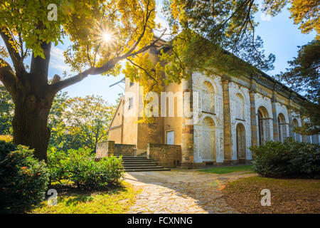 Ball Game Hall in the Royal Garden in Prague, Czech Republic. First built by in mid 16th century. - Stock Photo