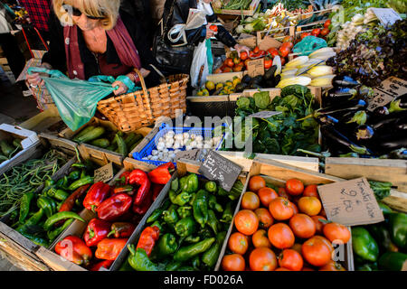Ajaccio Market - Stock Photo