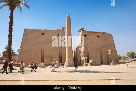 Egypt - Luxor Temple - Stock Photo