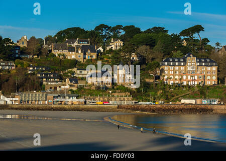 France,Brittany,Cotes d'Armor, Perros Guirec - Stock Photo