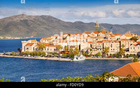 Korcula Island, Dalmatia, Croatia, Europe - Stock Photo