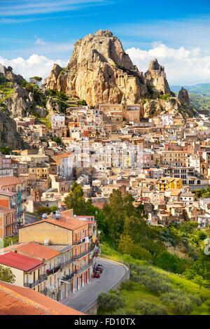 Gagliano Castelferrato, province of Enna, Sicily, Italy - Stock Photo