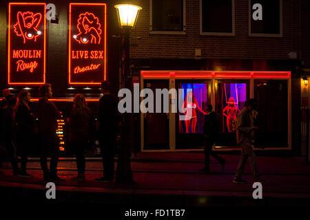 Amsterdam red light
