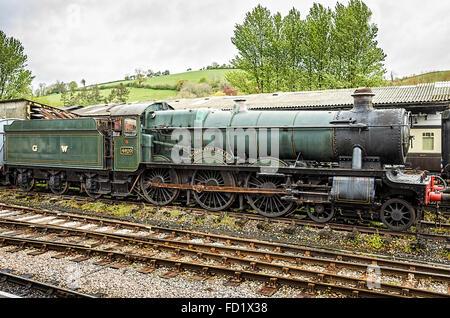 Locomotive Gwr 4900 Hall Class 5972 Olton Hall With