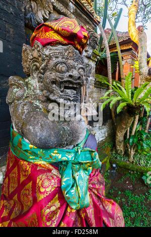 Decorative detail. Ubud Palace. Ubud. Bali. Indonesia. - Stock Photo
