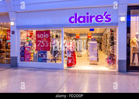 Claire's Second Floor of Dubai Mall - Accessories and Leather ...