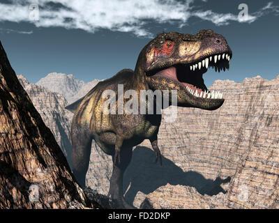 Tyrannosaurus Canyon Menacing Tyrannosaurus...