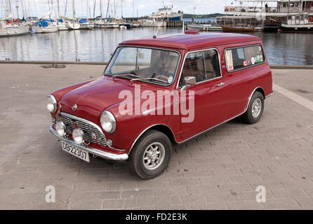 Austin Seven Mini van camper - Stock Photo