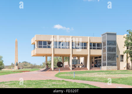 BLOEMFONTEIN, SOUTH AFRICA, JANUARY 26, 2016: The War Museum and the Womens Memorial for the Anglo Boer War 1899 - Stock Photo