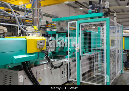 Injection Moulding Machine - Stock Photo