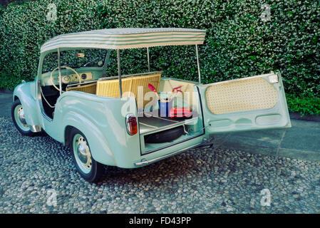 1954 Fiat Topolino Jolly beach car - Stock Photo