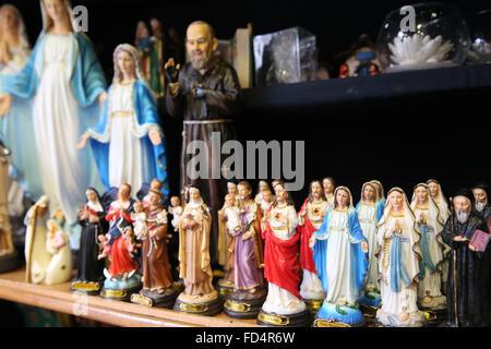 Catholic Faith Store Religious Articles Virgin Mary Stock Photo - Religious articles