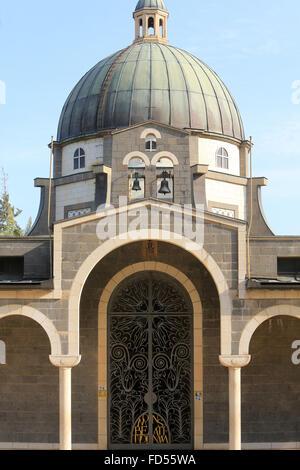 Church of the Beatitudes. - Stock Photo