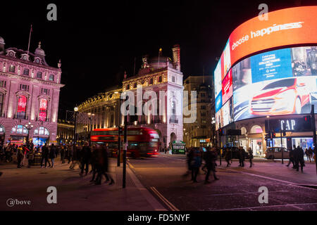 Piccadily Circus - Stock Photo