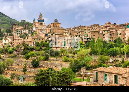 Valldemossa, Mallorca, Spain village. - Stock Photo