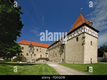 Budyne nad Ohri castle - Czech republic - Stock Photo