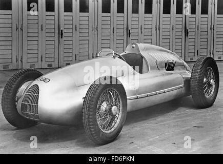 Auto Union Type C Racing Car Silver Arrow Replica Grand