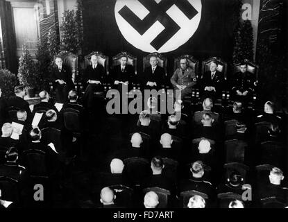 Opening of the Reichsoberseeamt in Hamburg, 1936 - Stock Photo