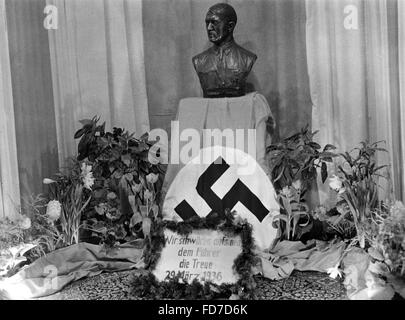 Election propaganda for the Reichstag elections 1936 - Stock Photo