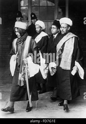 London Conference on Palestine, 07.02.1939 - Stock Photo