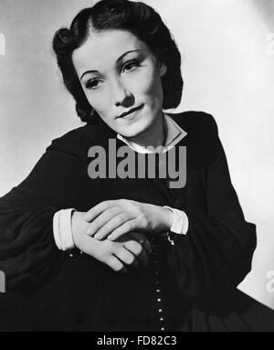 Portrait of Brigitte Horney, 1939 - Stock Photo