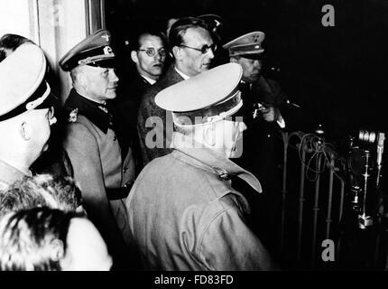 Adolf Hitler in Linz, 1938 - Stock Photo