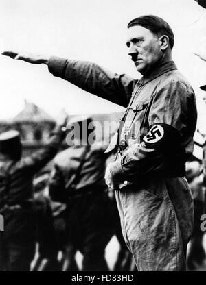 Portrait Adolf Hitler, 1933 - Stock Photo