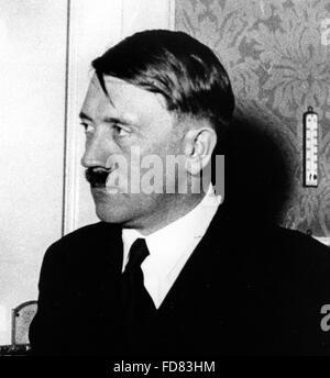 Portrait of Adolf Hitler, 1933 - Stock Photo