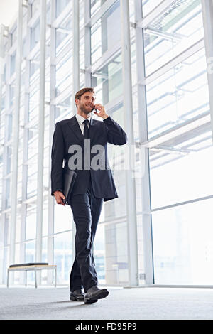 Modern business on the move - Stock Photo