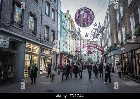 Carnaby Street London - Stock Photo