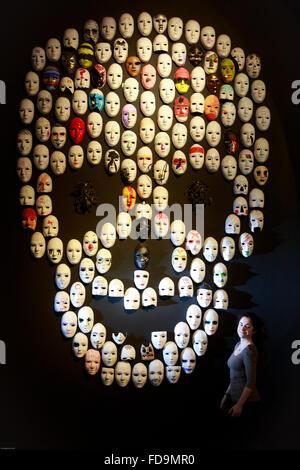 Edinburgh, Scotland, UK. 29th January 2016. Scottish National Portrait Gallery display a new exhibition called The - Stock Photo