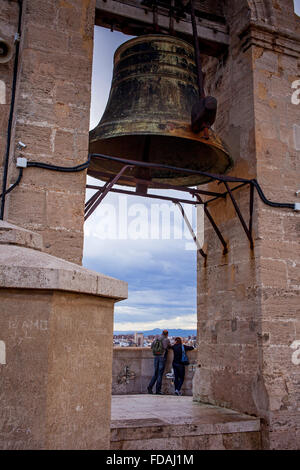Cathedral.The Miquelete bell-tower. Valencia. Spain. - Stock Photo