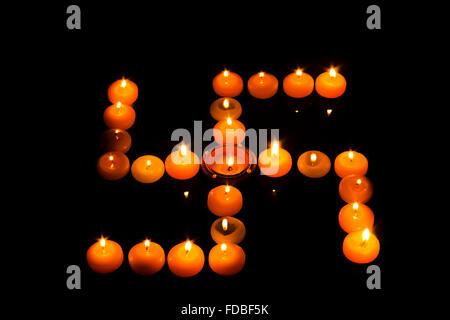 Indian Festival Diwali Diya Swastika Nobody - Stock Photo