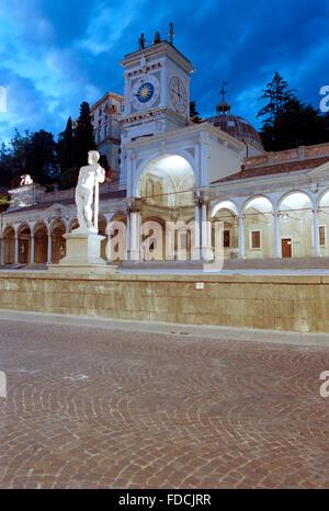 Italy, Friuli Venezia Giulia, Udine, Piazza della Libertà, Square, Loggia di San Giovanni. - Stock Photo