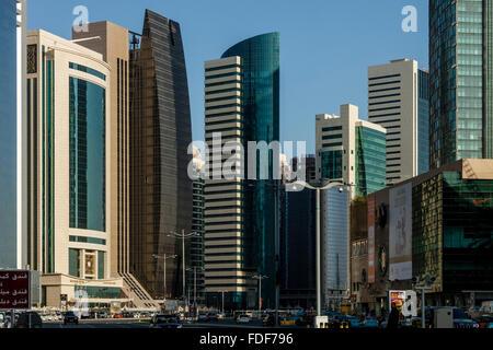 The City Centre, Doha, Qatar - Stock Photo