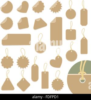 set of labels. vector - Stock Photo