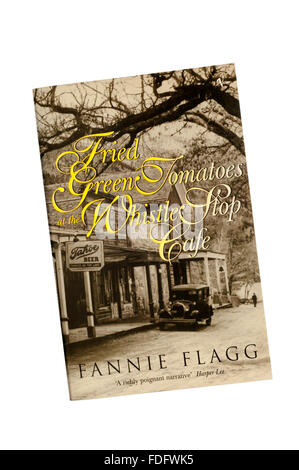 A paperback copy of Fried Green Tomatoes at the Whistle Stop Cafe by Fannie Flagg. - Stock Photo