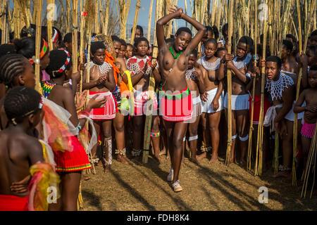 Ludzidzini, Swaziland, Africa - The Swazi Umhlanga, or ...