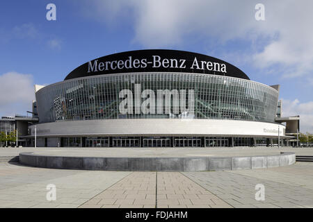 mercedes benz arena berlin stock photo 88149579 alamy. Black Bedroom Furniture Sets. Home Design Ideas