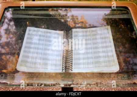Washington D.C., USA, list of casualties on Vietnam Veterans Memorial - Stock Photo