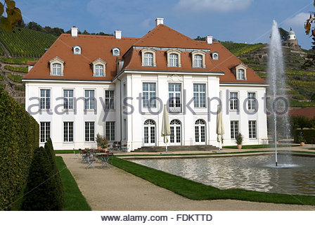 castle wackerbarth - Stock Photo