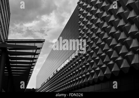 modern architecture,facade,centrum gallery - Stock Photo