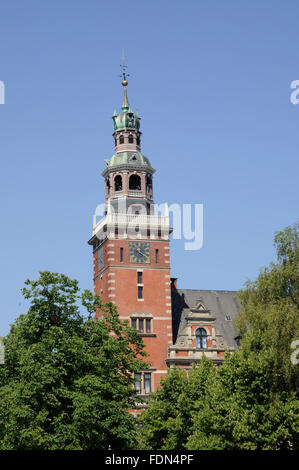 empty,town hall,town hall tower - Stock Photo