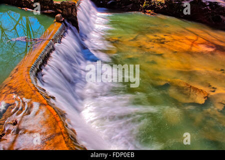 Lullwater Waterfall Spillway - Stock Photo