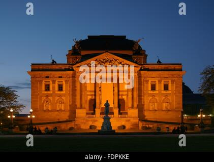 wiesbaden,state theater - Stock Photo