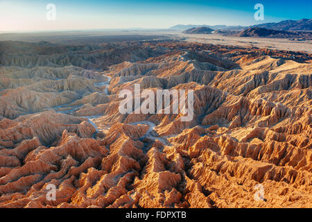 The view from Font's Point in Anza-Borrego Desert State Park, California - Stock Photo