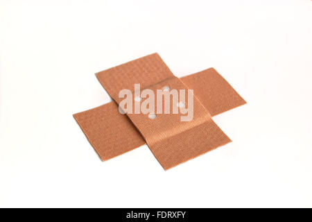 adhesive bandage,plaster,examining - Stock Photo