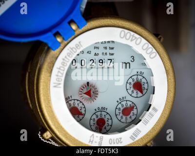 water meter,water meters - Stock Photo